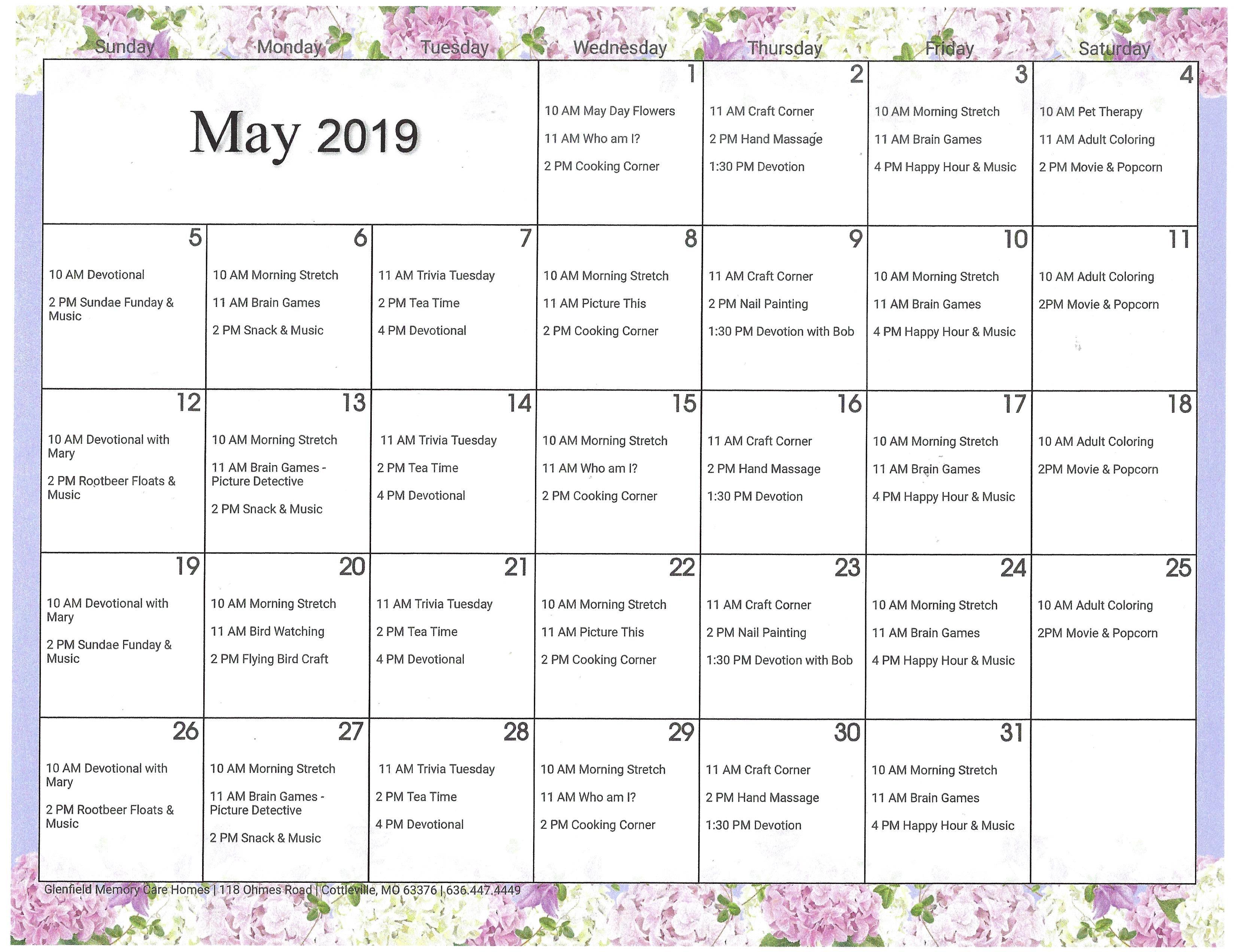 may activity